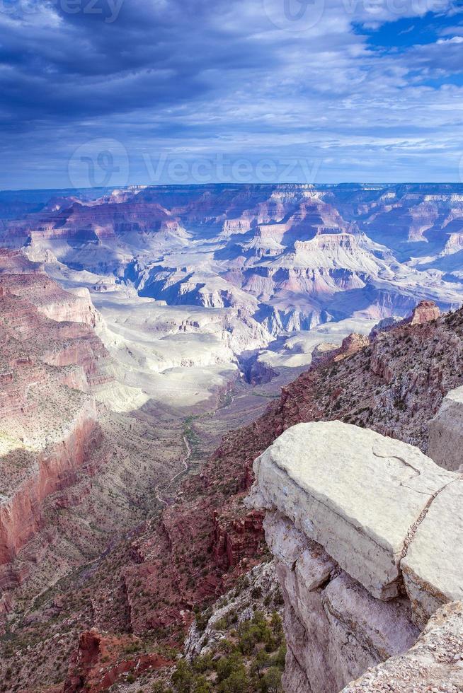 vue incroyable du grand canyon le matin photo