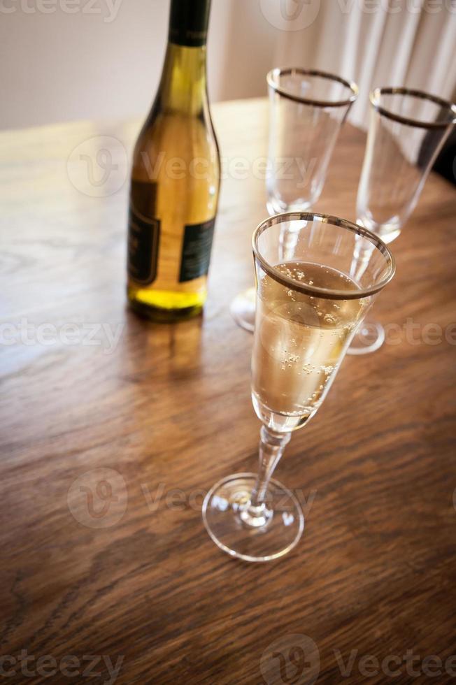 vin pétillant photo
