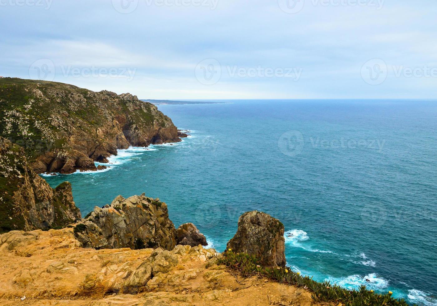 falaises au portugal photo