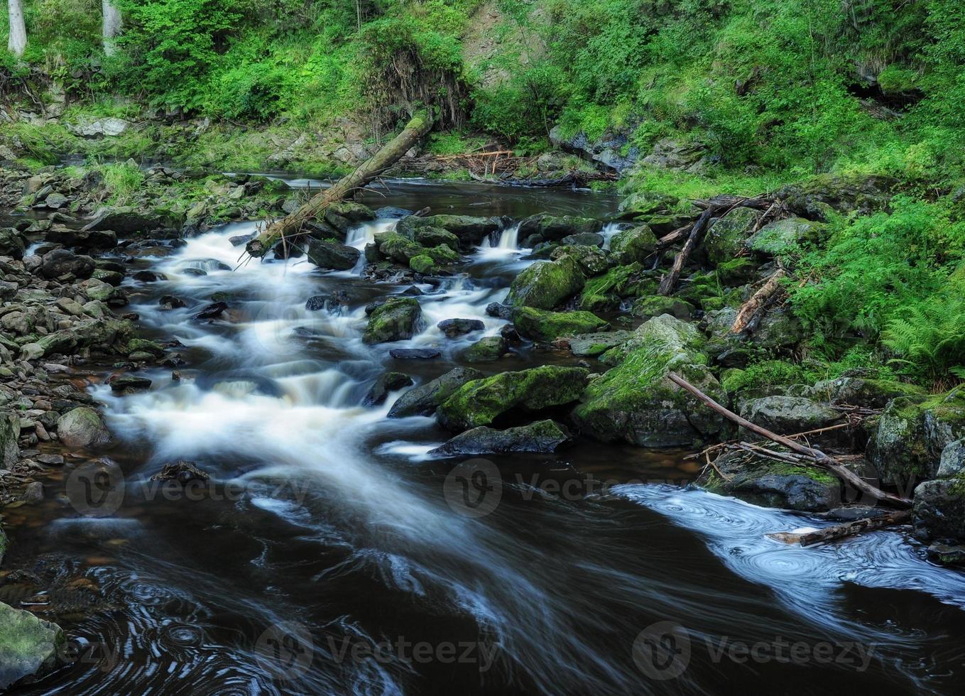 Blanice River en Bohême photo