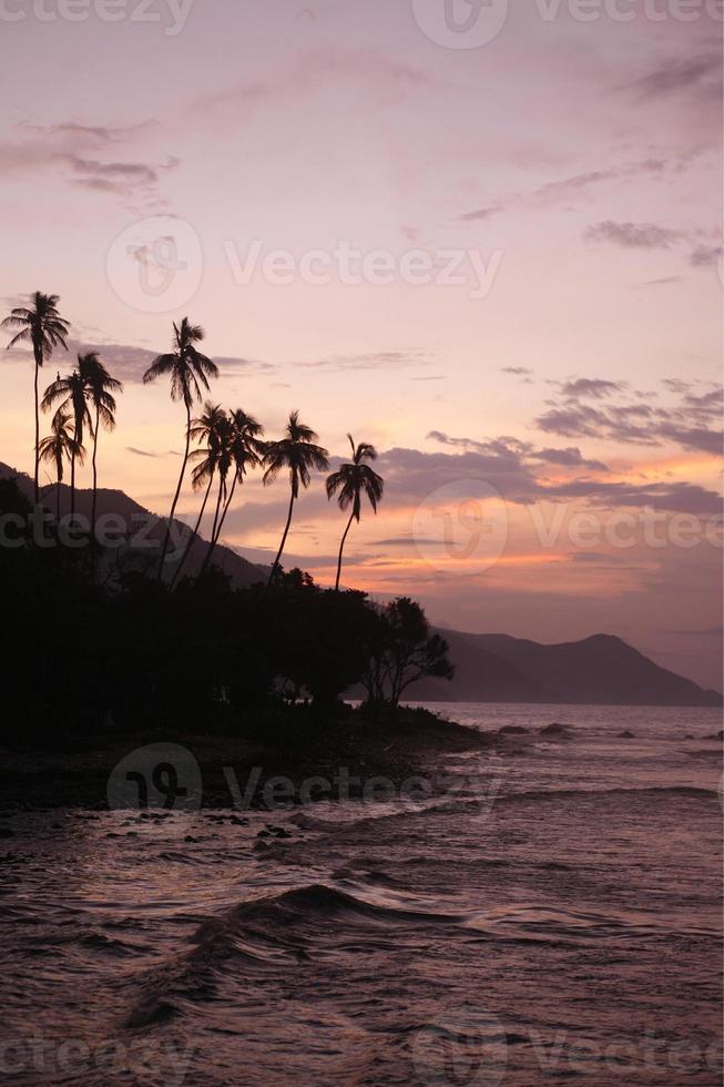 venezuela choroni plage côte photo
