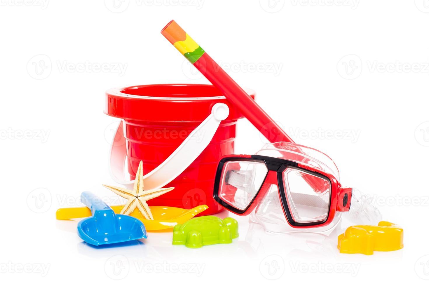 jouets de plage photo