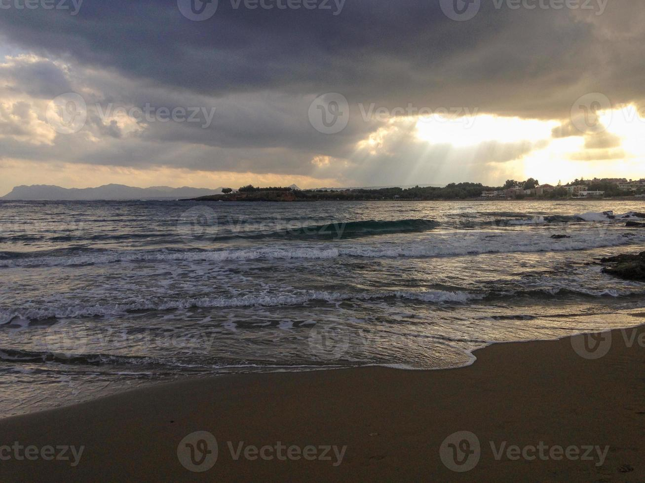 plage grecque photo