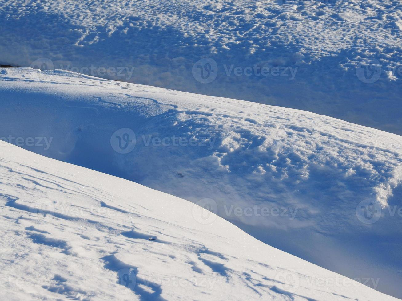 neige. Contexte photo