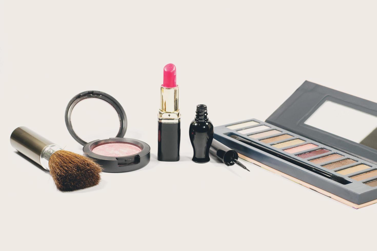 groupe de cosmétiques de maquillage photo