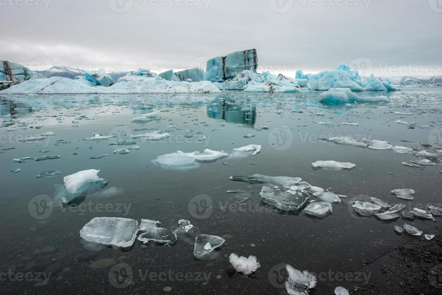 Jokulsarlon, lagune de glace, Islande photo