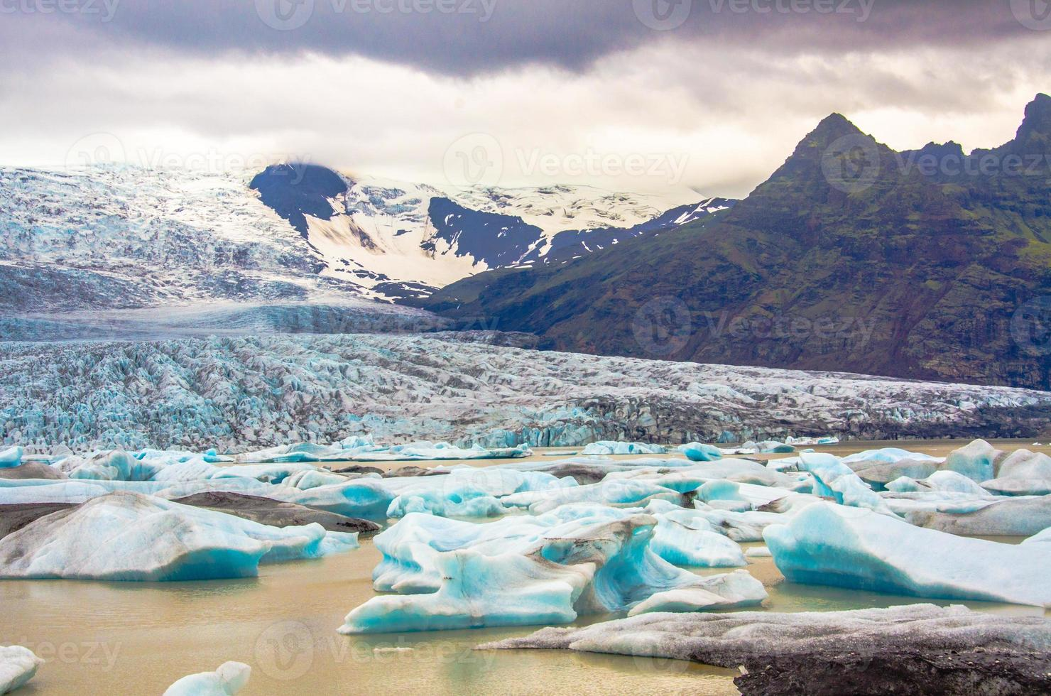 jokursarlon - islande - lac glaciaire photo