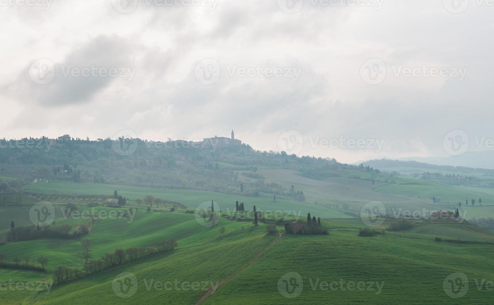 Val d'Orcia en Toscane photo