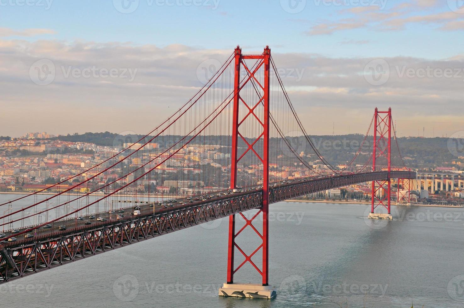 Golden Gate Bridge à Lisbonne photo