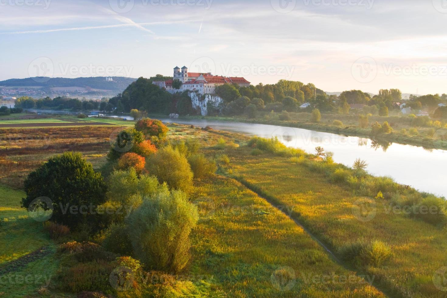 Abbaye bénédictine de Tyniec près de Cracovie, Pologne photo