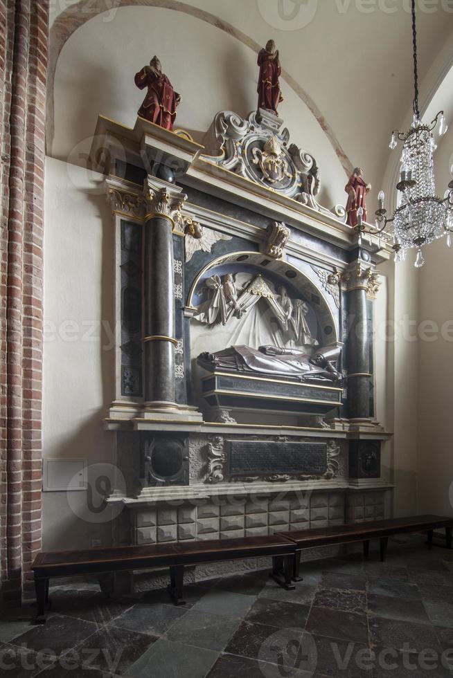 chapelle de st. Martin dans la cathédrale de Poznan, Pologne photo