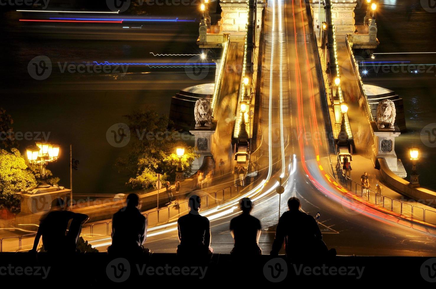 Pont des Chaînes à Budapest, Hongrie photo
