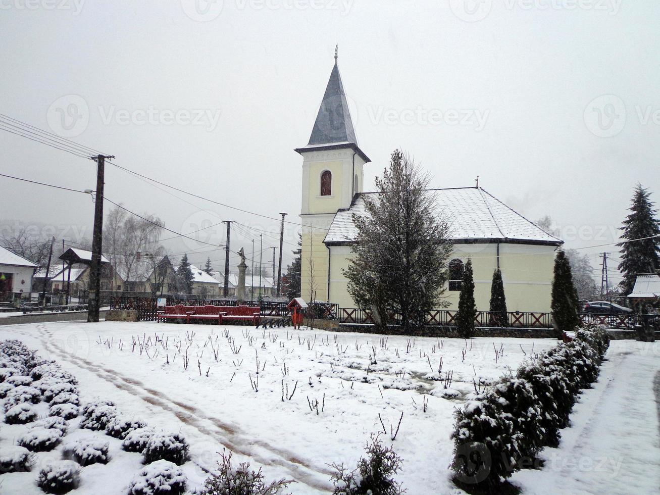 village enneigé photo