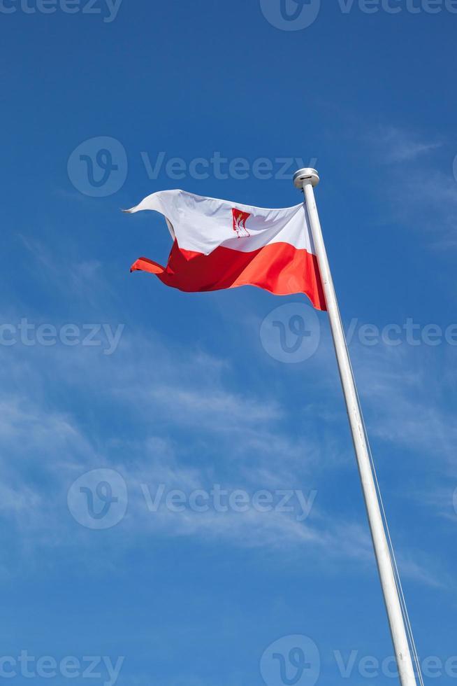 drapeau de la pologne photo