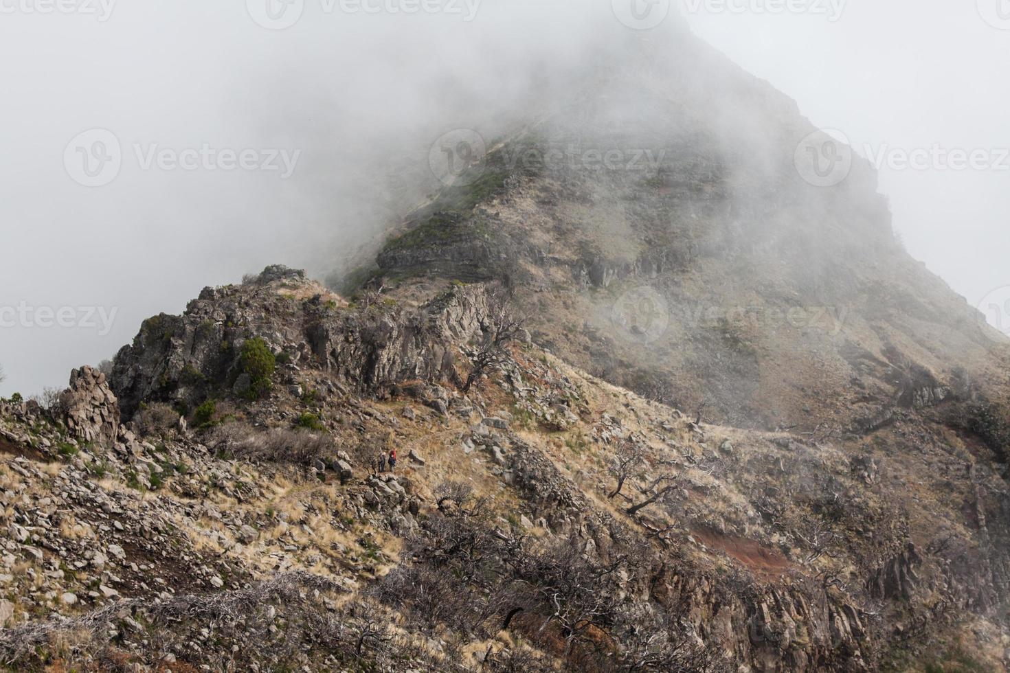 Pico do Arieiro sur l'île de Madère, Portugal photo