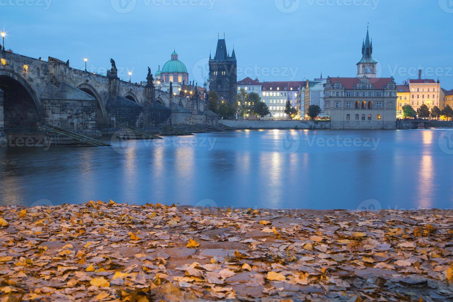 Prague la nuit photo