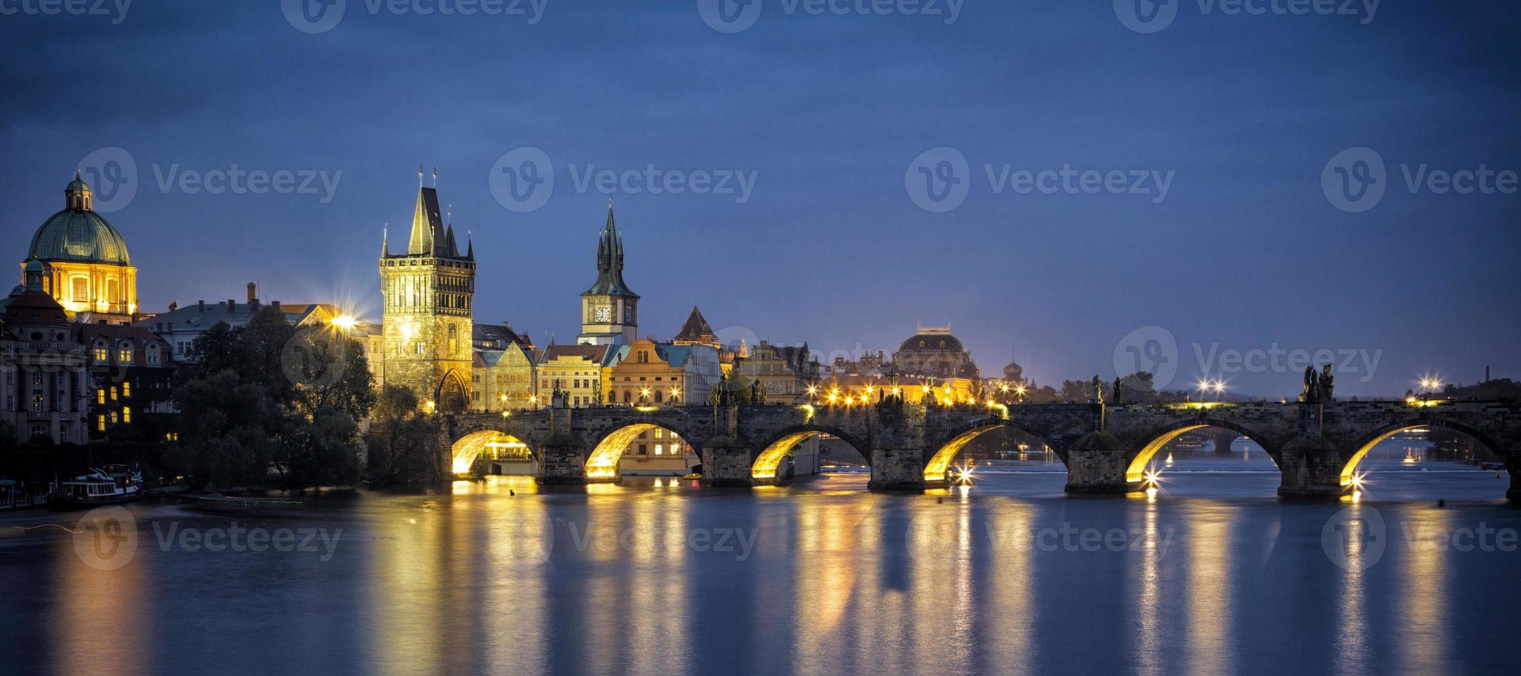 Pont Charles à Prague République Tchèque photo
