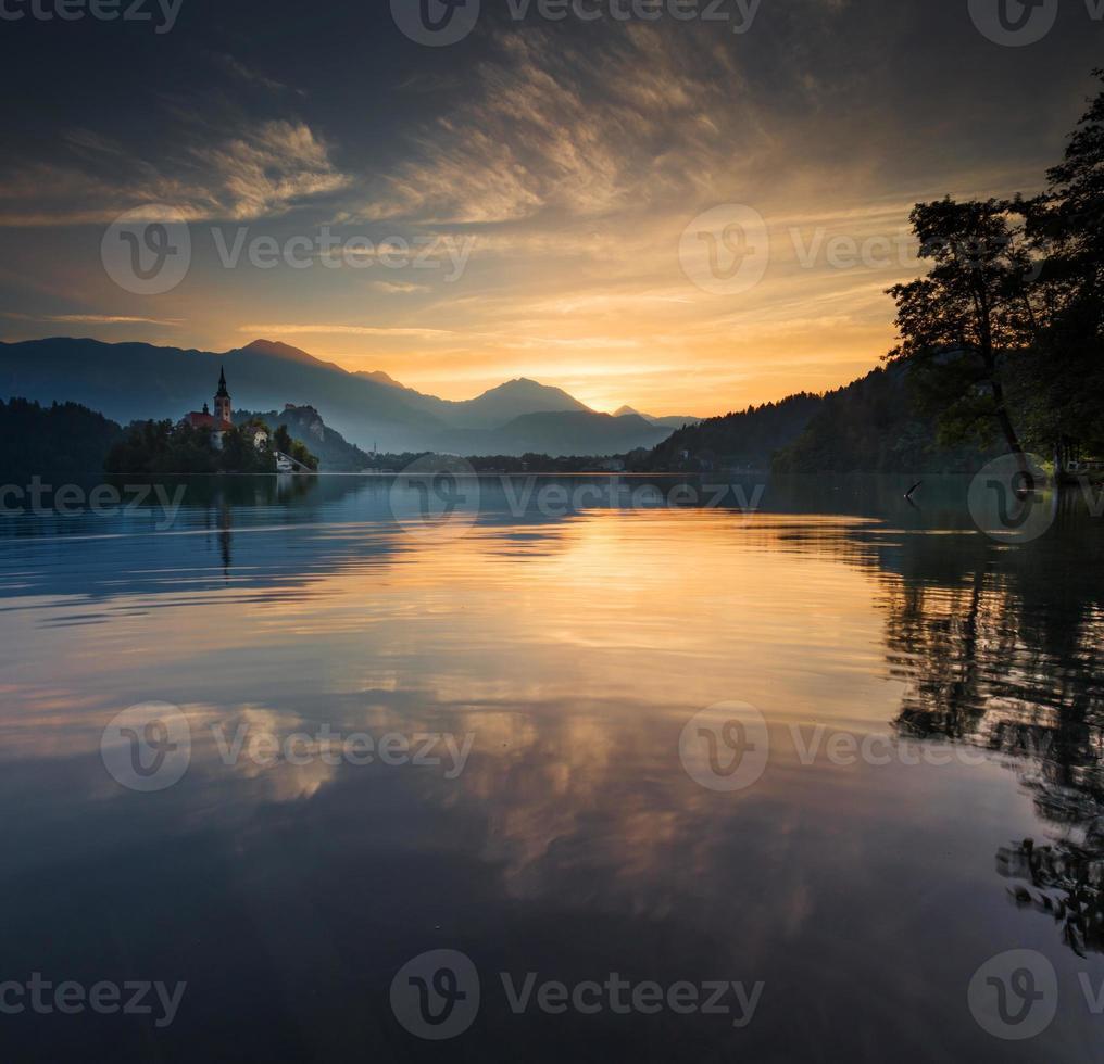 Lac de Bled, Slovénie, Europe photo