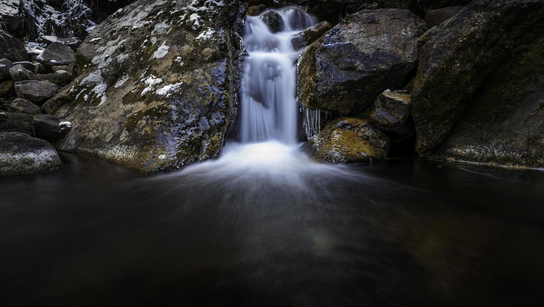 petite cascade de castor creek photo