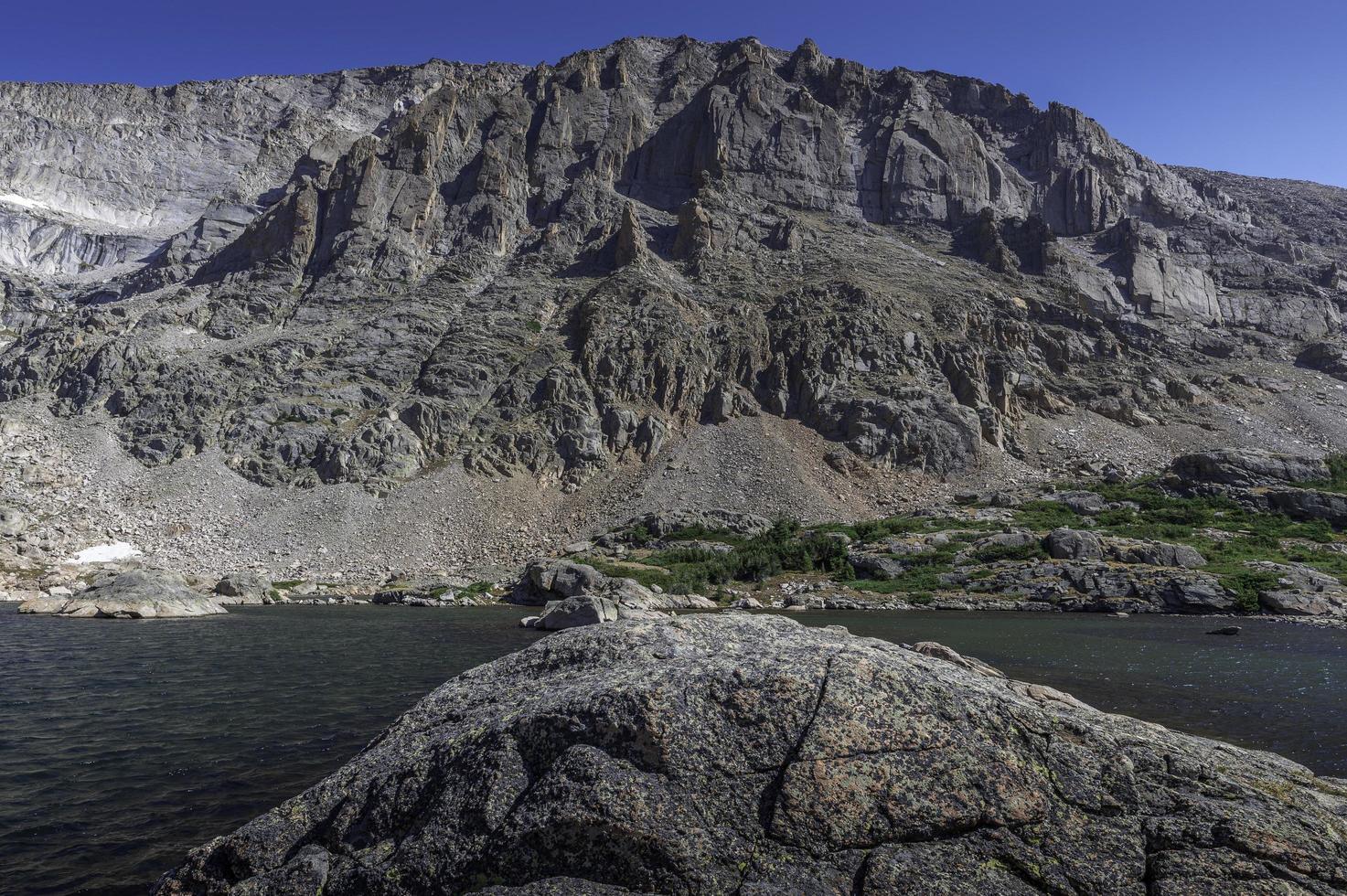 section centrale du lac des bancs de neige photo