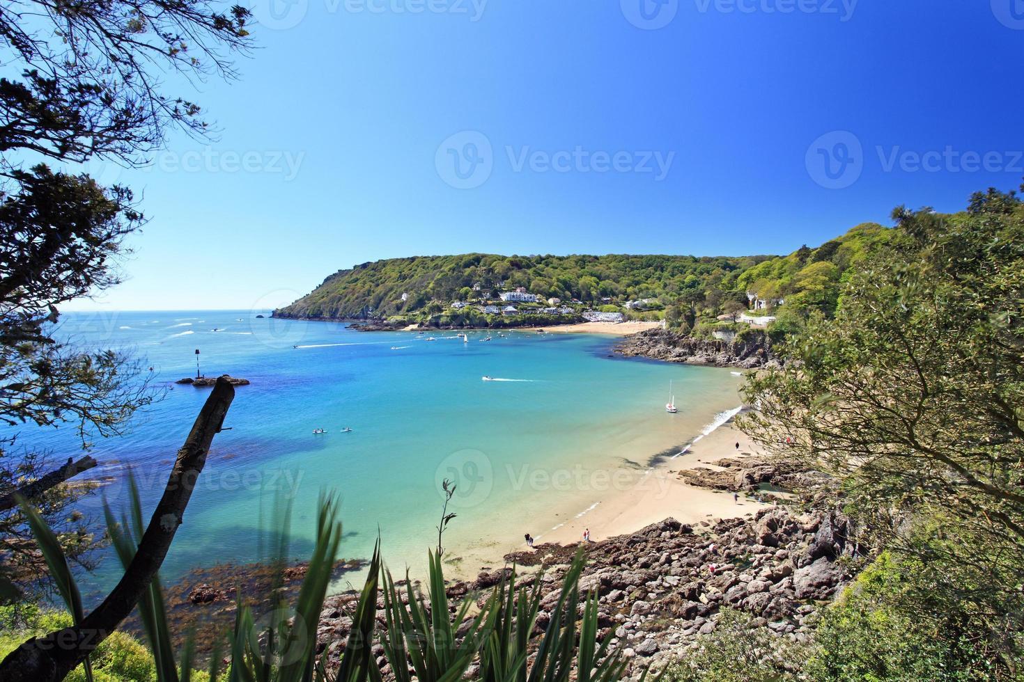 Salcombe beach devon angleterre photo