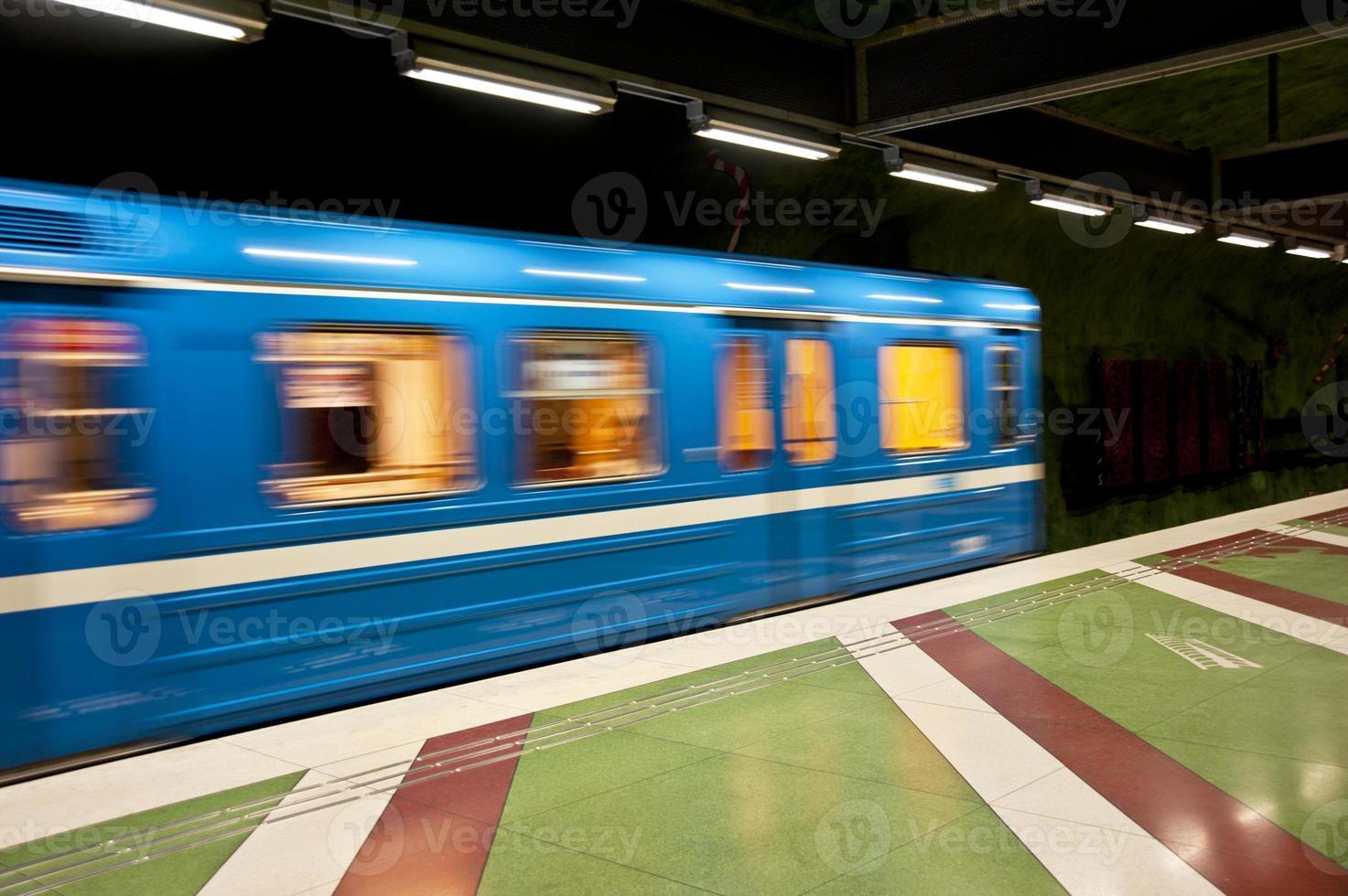 train à stockholm photo