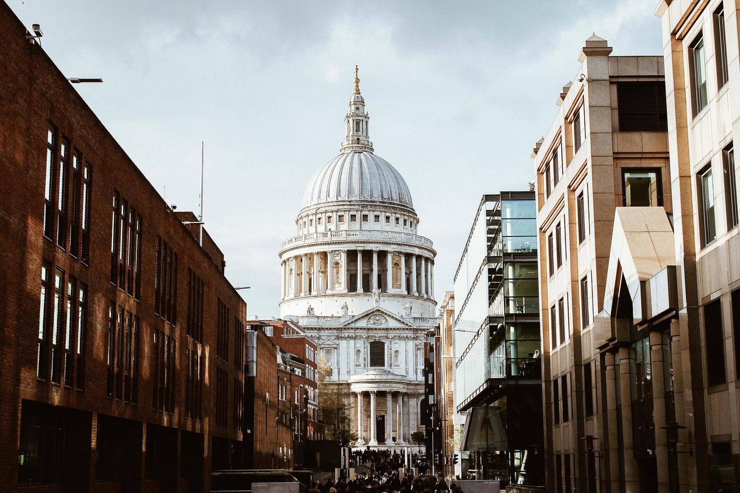 Londres, Royaume-Uni, 2020 - vue de st. la cathédrale de Paul pendant la journée photo