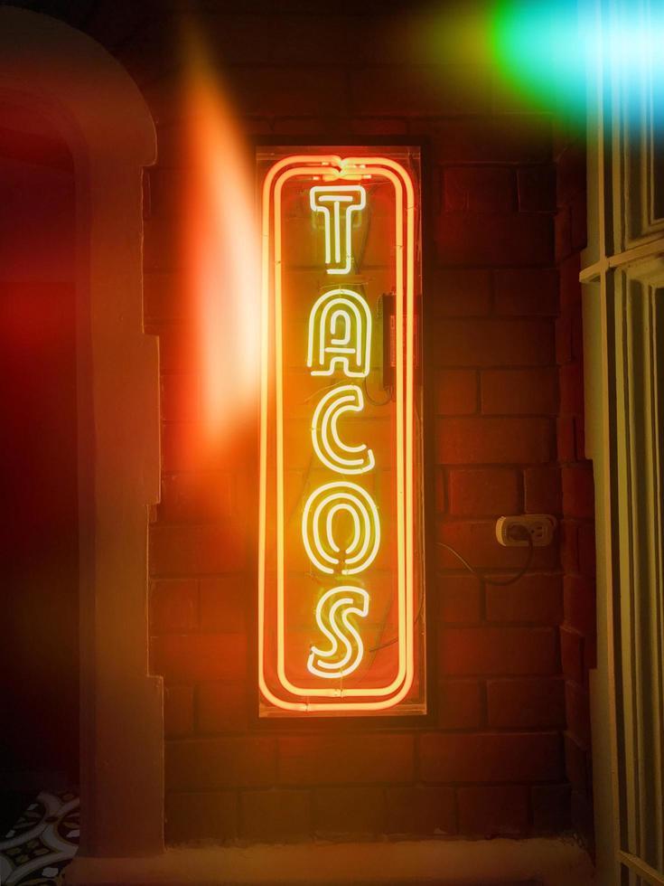 signalisation led tacos photo