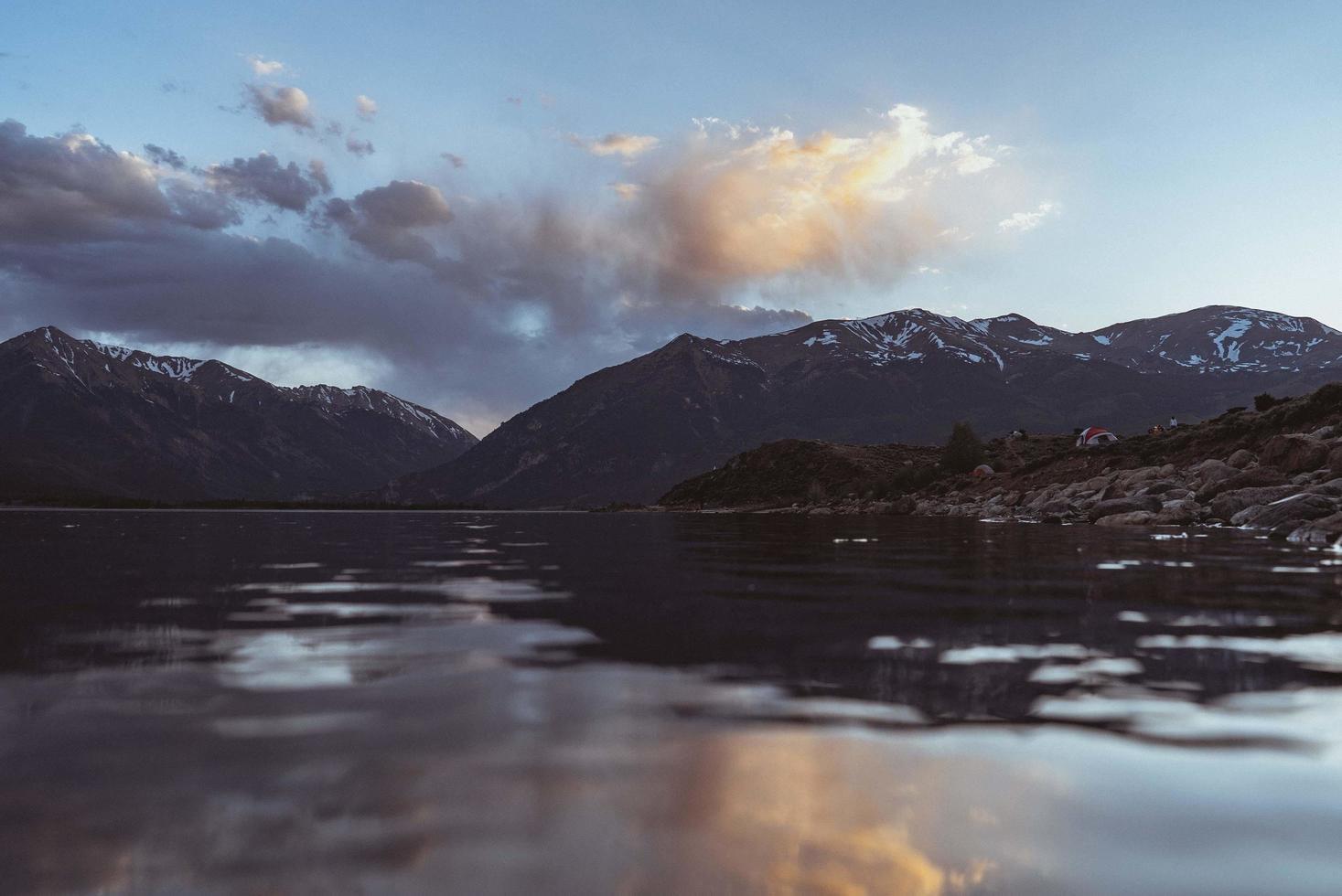 lac dans le colorado photo