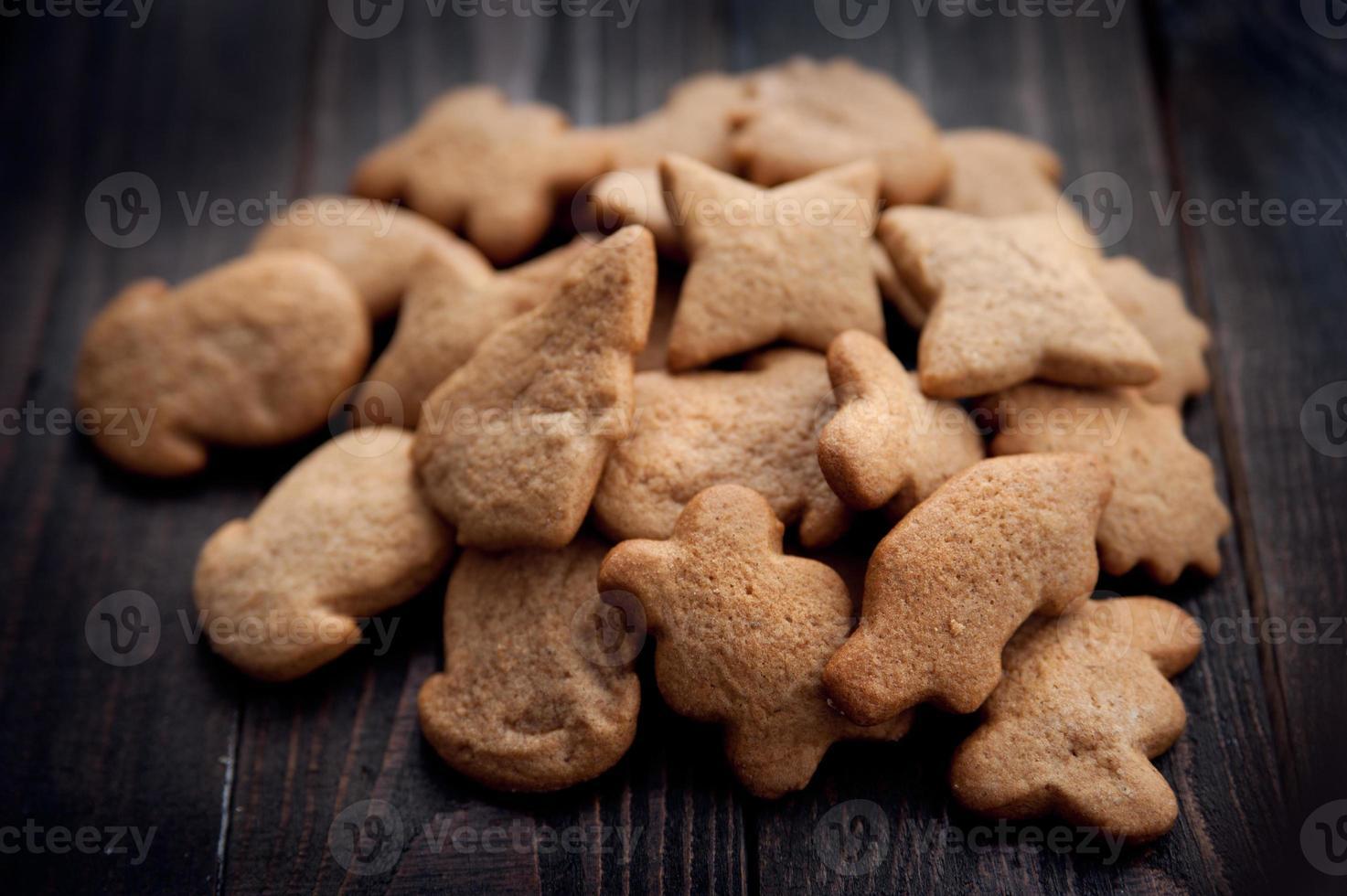 biscuits au pain d'épices aromatiques et frais photo