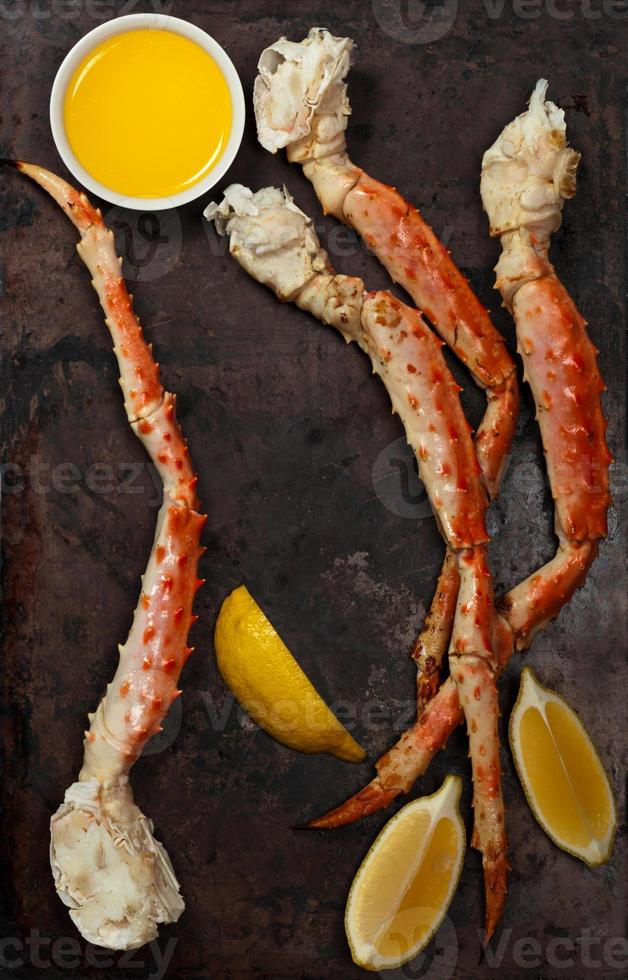 pattes de crabe des neiges photo