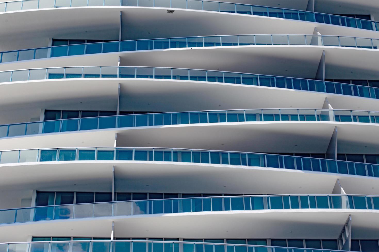Miami, Floride, 2020 - bâtiment blanc moderne photo