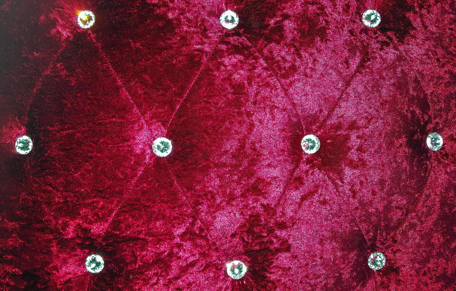 fond de texture de canapé rouge photo