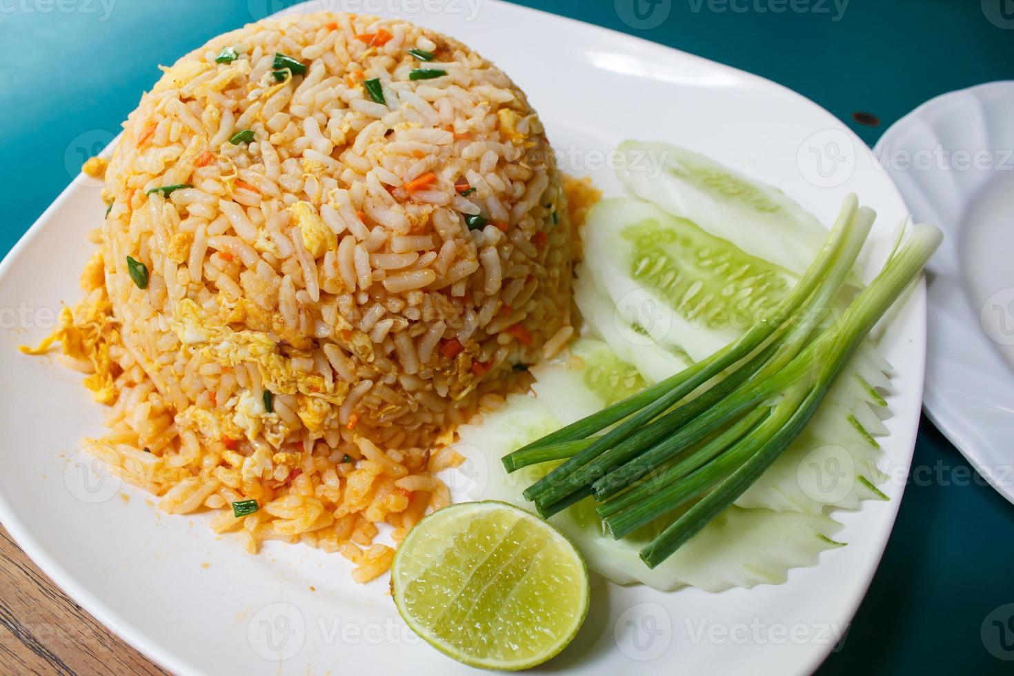 riz sauté. photo