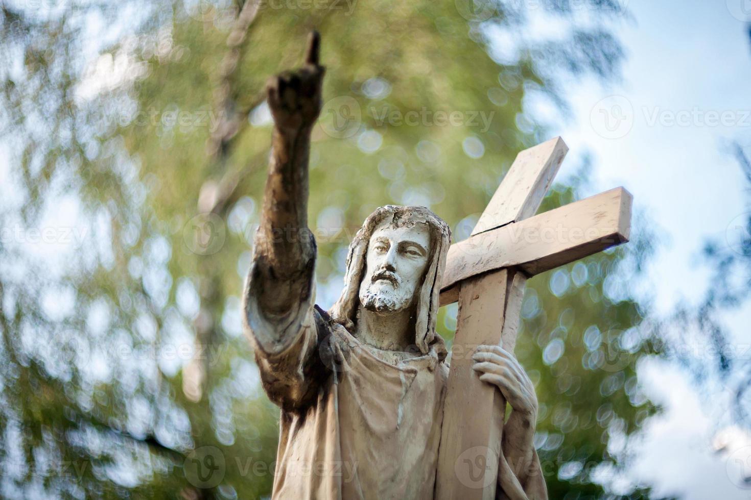 statue de jésus christ photo