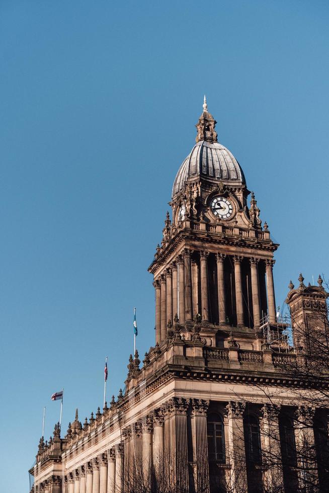Hôtel de ville de Leeds, Angleterre pendant la journée photo