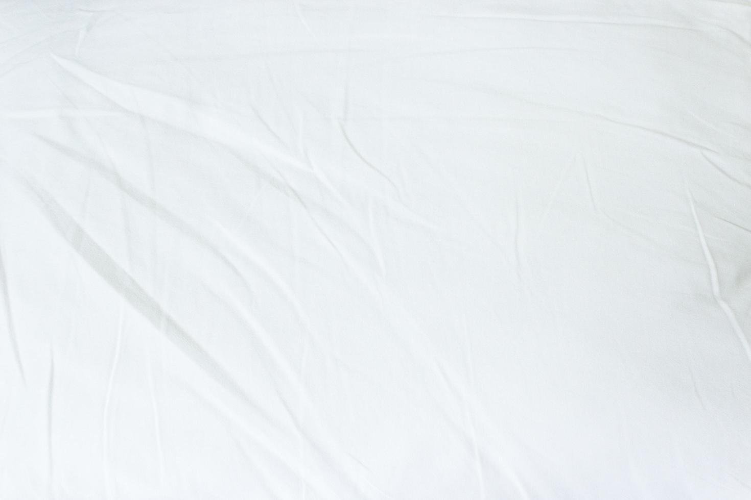 fond de tissu blanc photo