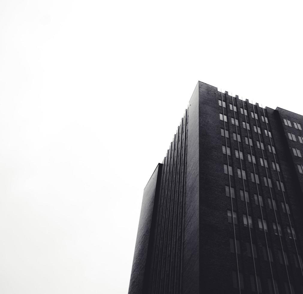 Pays-Bas, 2020 - photo noir et blanc du bâtiment