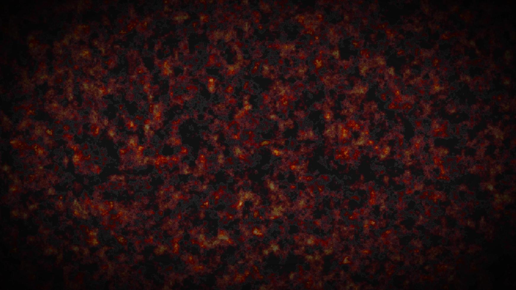fumée ardente ou brouillard, illustration 3d atmosphérique photo