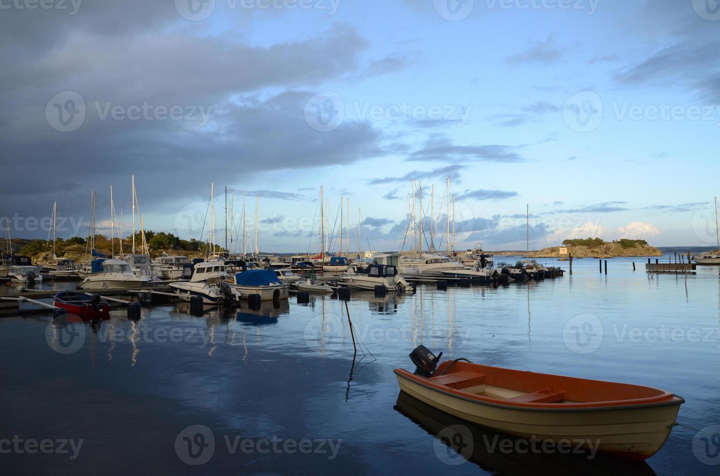 île de l'archipel de Suède photo