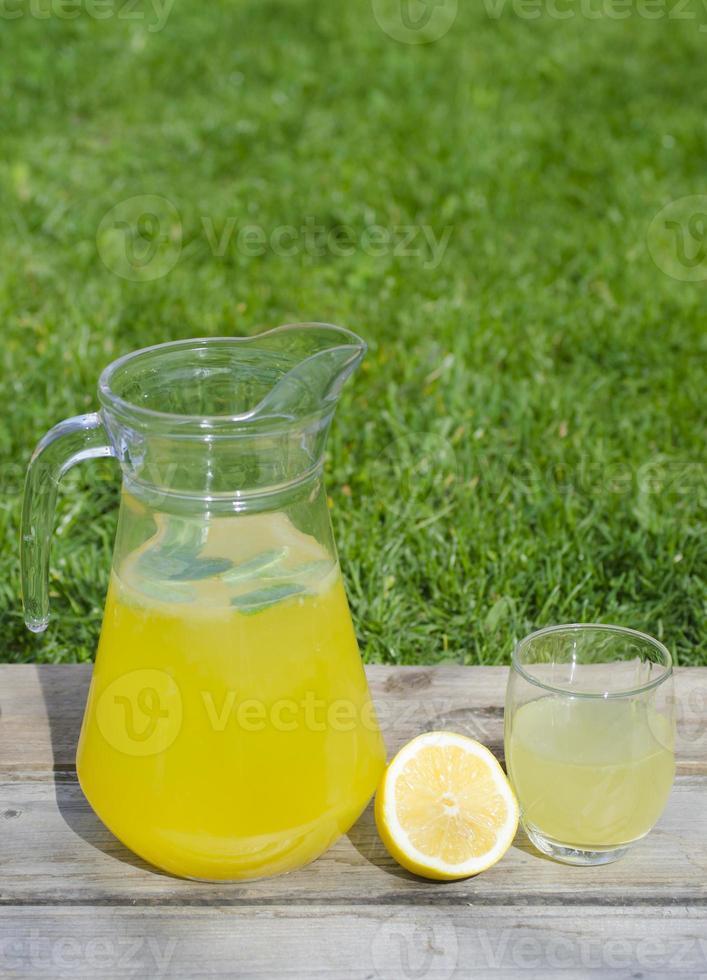 limonade à la menthe photo