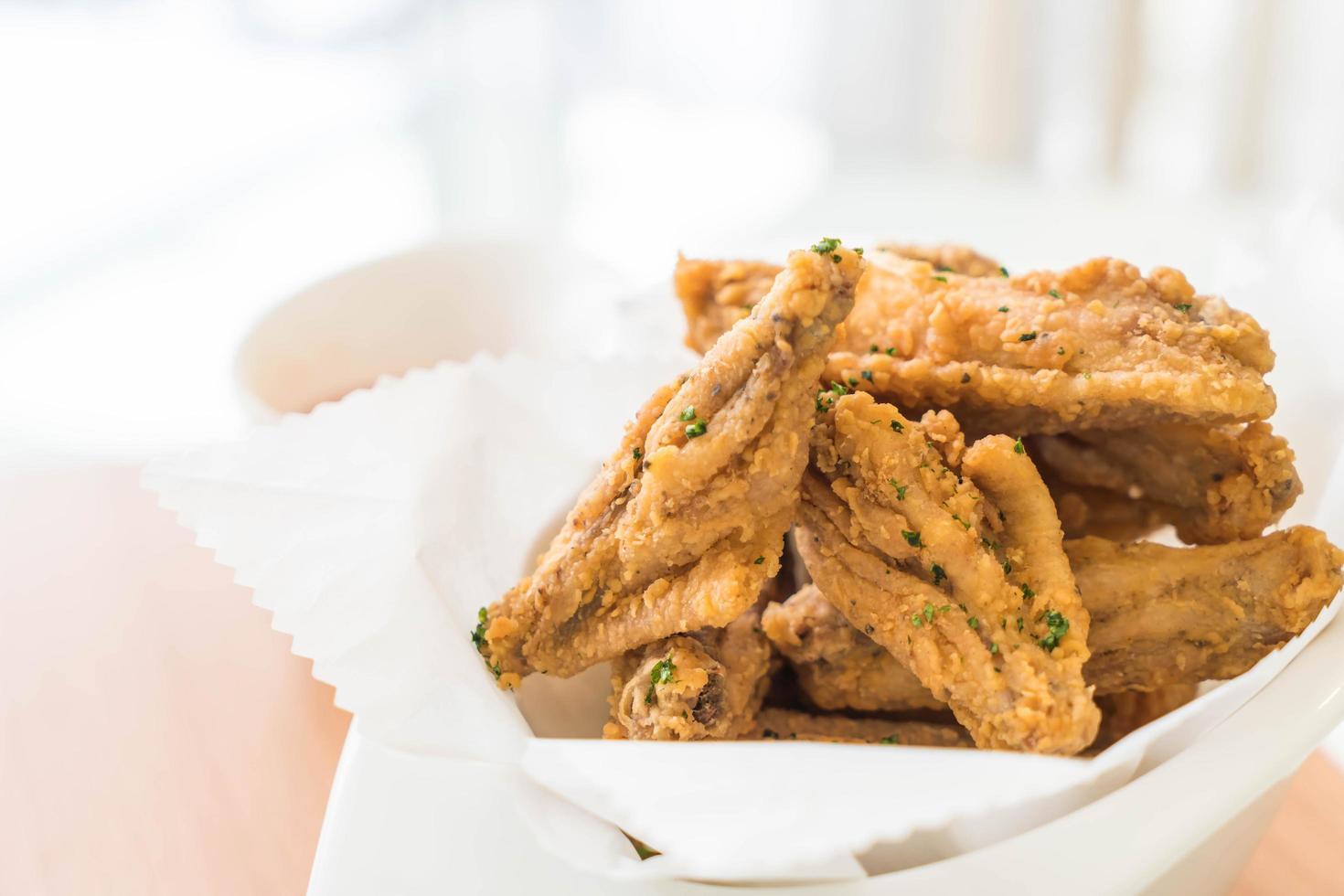 panier de poulet frit photo