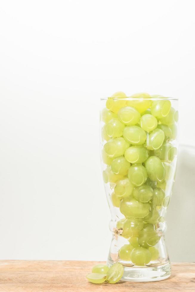 raisins dans un verre photo