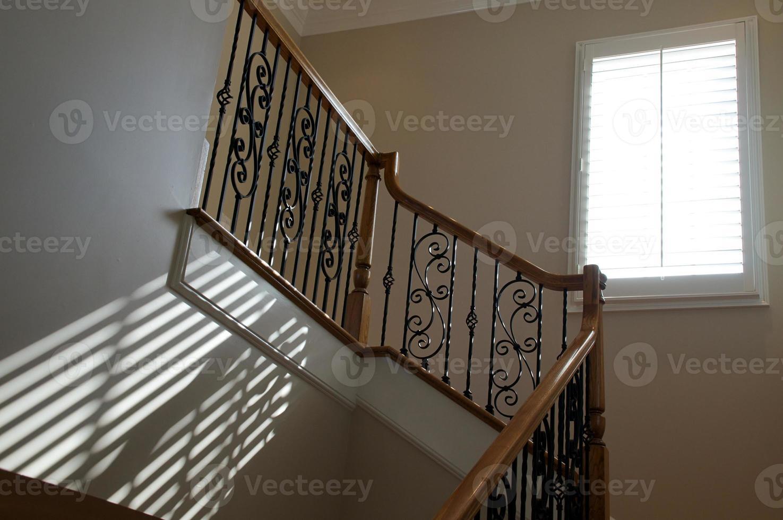 éclairage de fenêtre sur escalier photo