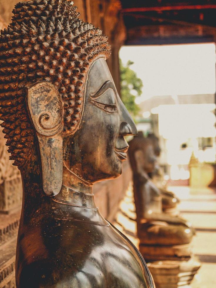 statue de Bouddha de Thaïlande photo
