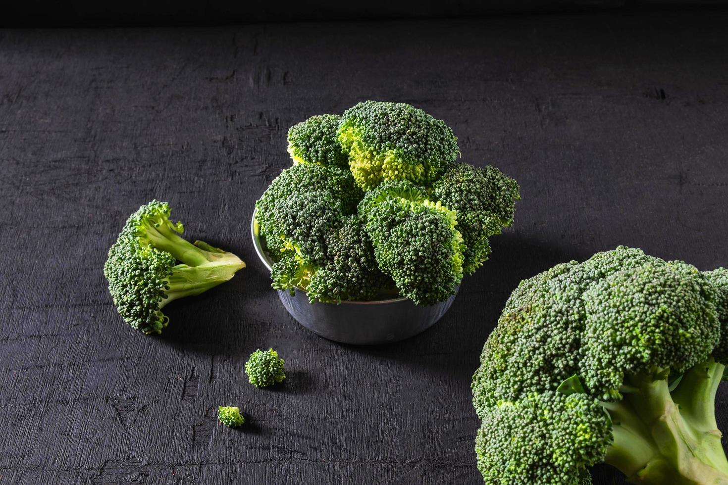 brocoli dans un bol photo