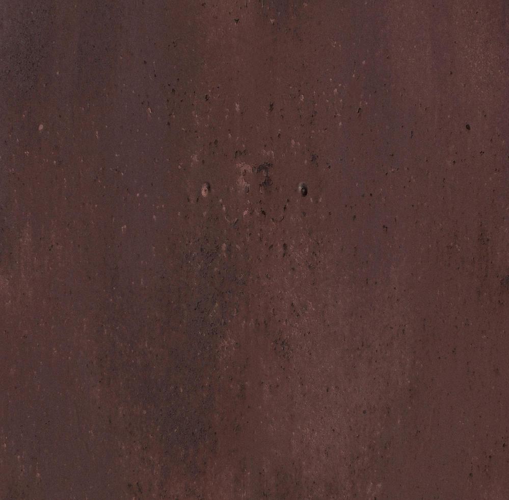 texture en acier brun oxyde photo