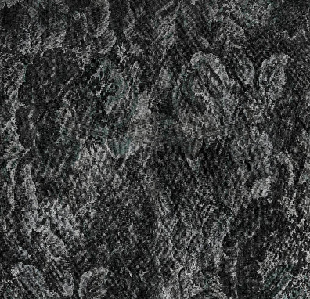 texture de tissu vintage noir photo