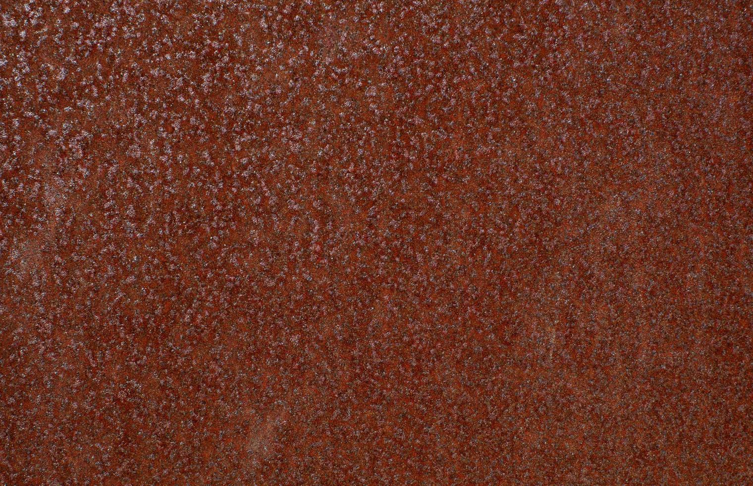 texture en acier oxydé rouge photo