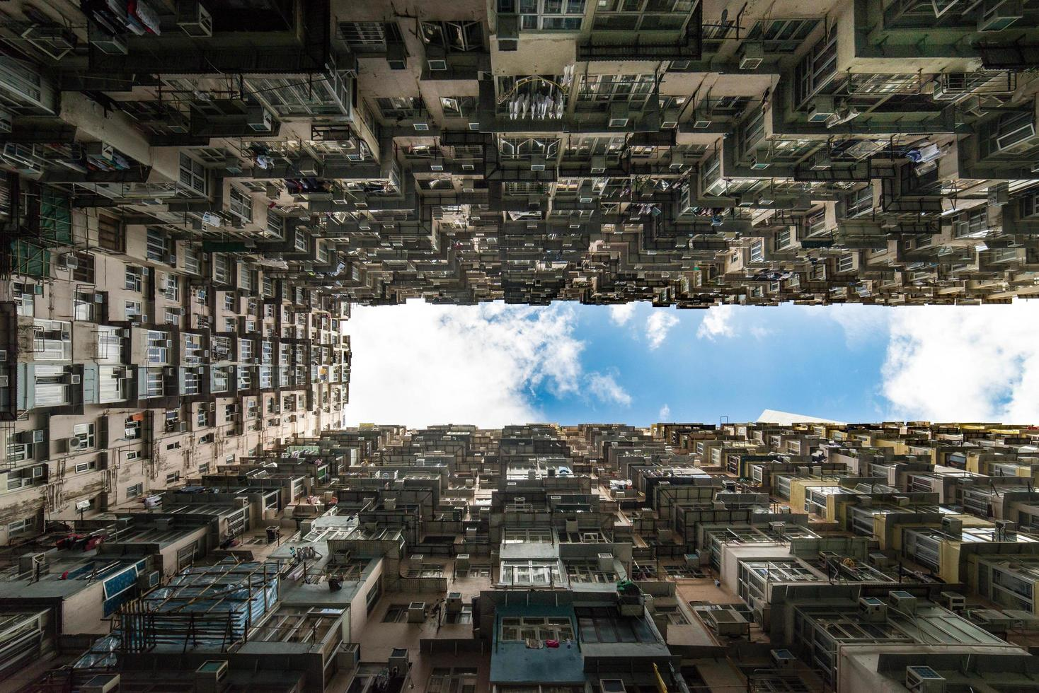 immeuble de hong kong photo